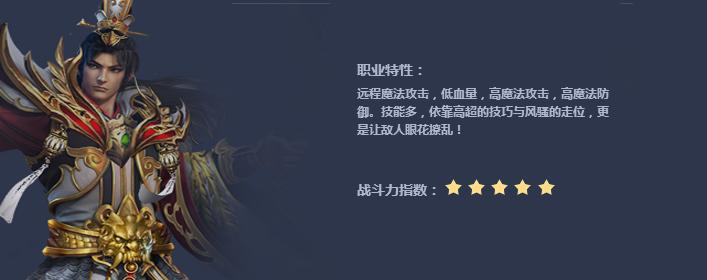 丽华传奇法师职业介绍