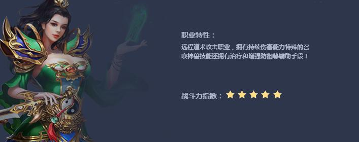 丽华传奇道士职业介绍