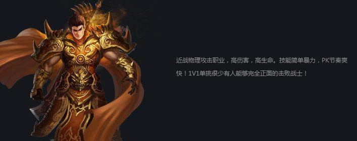众神之箭战士职业介绍