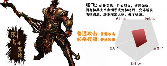 帝国霸业张飞职业介绍