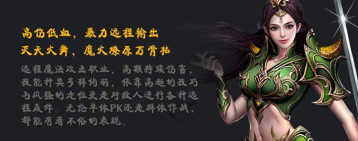 霸王之心法师职业介绍