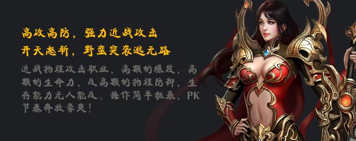 霸王之心战士职业介绍